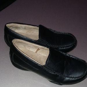 THE CHILDRENS PLACE Boys Size 2 Black Dress Shoe